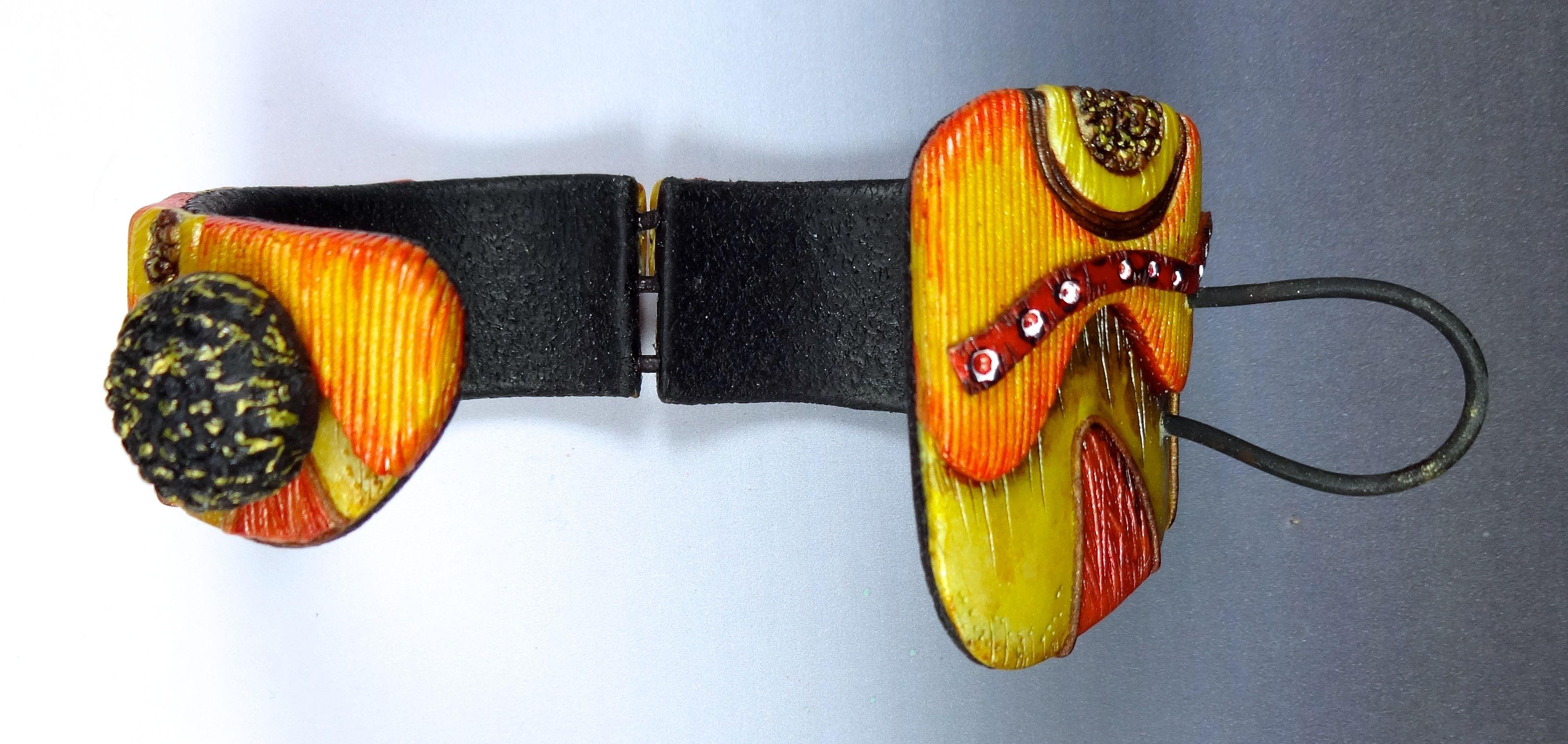 bracelet orangé
