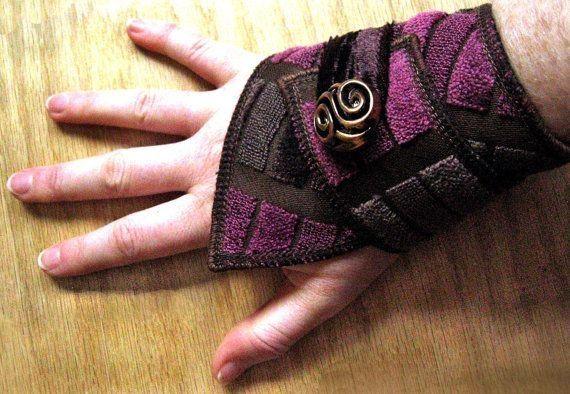 Bracelet en tissus Pinterest